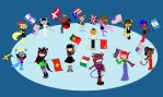 The OCs and Flags Project by YooriYooriliz