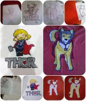 Thor Shirts by moonstone8959