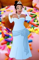 Plus size Princess: Tiana by Willemijn1991