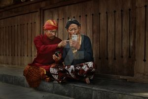 A Traditional Dialogues by djati