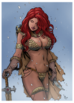 Red Sonja by SparkStudios