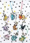 Charms Eevee evolutions by I-Am-Bleu