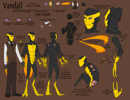 Vandall Reference Sheet by LuseyMoth
