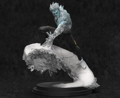 ICEMAN! by AYsculpture