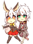 :CM: Rukko and Ashmyr by Pearl-Chan0415