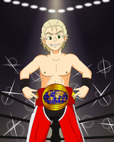 Commission - Wrestler Louis by Shockzboy