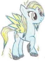 Lightning Shock (coloured version 1) by lemonthecombustible