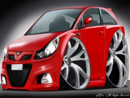 Vauxhall Corsa by Psyco-Design
