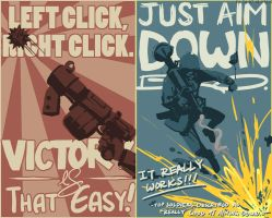 TF2 Posters by Serain