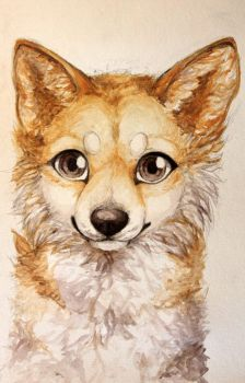 I heard you like watercolors by LiaBorderCollie