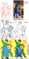 Yusuke and Kuwabara - Step by step by common-boob