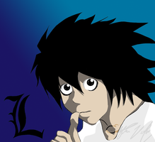 Death Note: L by lilpuccafanatic