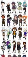 DH:: Chibi Weapons [+25] by Tree-kun