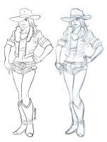 CowGirl by fleng