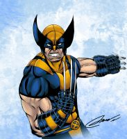 Wolverine colors by LTartist