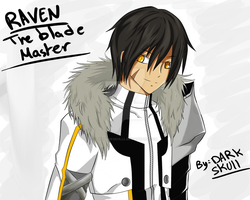 Elsword : Raven the blade master by DarkTheSkull