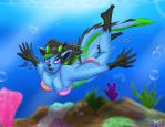 Exploring the Reef [Request] by The-B-Meister