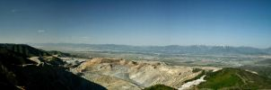 Copper Mine Panoramic by PapaGue