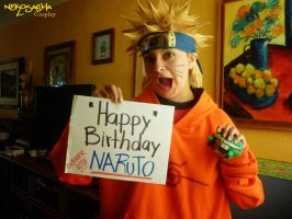 HAPPY BIRTHDAY NARUTO ! by Qwaseer