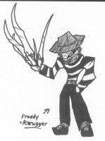 Freddy Frugger by Kainsword-Kaijin