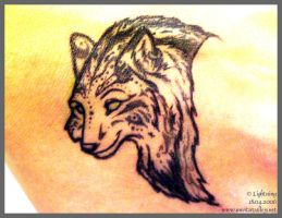 Tattoo-ed- Wolf by blayrd