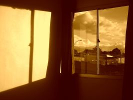 Sunset in my room by Gbrazil10