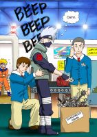 Kakashi Runs Into a Problem by Risachantag