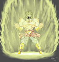 Broly Fanart by cyril002