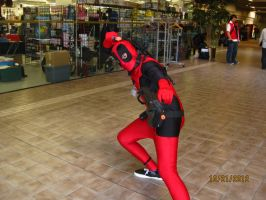 Only Deadpool Cosplayer Not In a Dress by PsychoBabble192