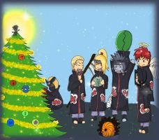 Christmas with Akatsuki by Patka91