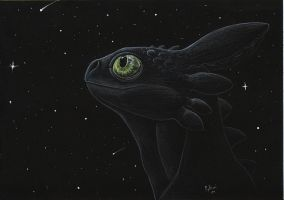 Toothless by mythori