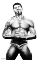 Dave 'The Animal' Batista by hohenheim54