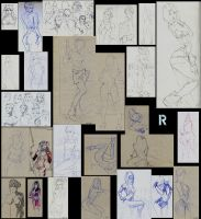 sketches 2013-14 by moPe94