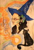 Gift: Herbal Witch by chaosqueen122