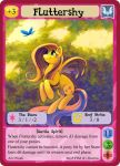 Fluttershy - mlp minis profile card by MLPMinis