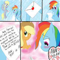 AppleDash- Loveletter by Senaris