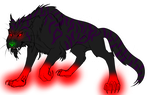 Demon Big Cat Adopt -open- by DiloAdopts