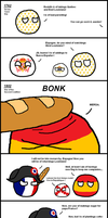 Polandball: Louisiana Purchase by Gouachevalier