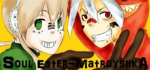 Soul Eater-Matroyshka by VioletRaid