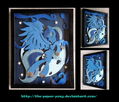 Shadowbox: Moon Princess Luna by The-Paper-Pony