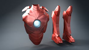 Ironman Suit New Version WIP by Amaya2311