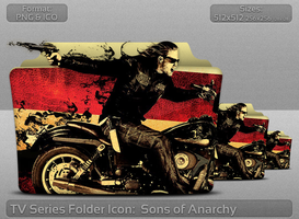 Sons of Anarchy TV Serie Folder Icon by atty12
