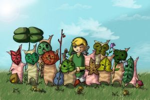 Friends Koroks by shafry