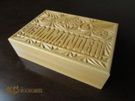 Magic the Gathering - Commander box by alesthewoodcarver