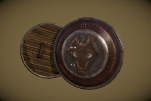 Kvatch Shield by InsanitySorrow