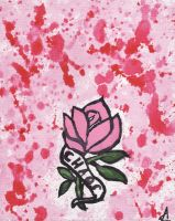 Even A Rose Can Grow In Cement Cracks by amirroredshadow