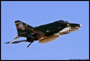 QF-4 Nellis Sunday by AirshowDave