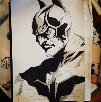 Batman by Me by saitokazuki