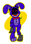 Withered Bonnie by theStupidButterfly