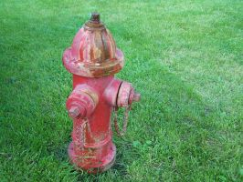 fire hydrant stock by JustinByerline-Stock